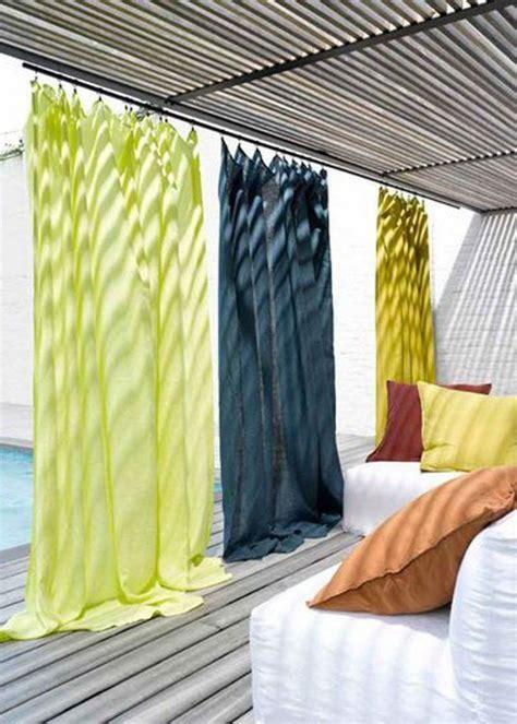 les 25 meilleures id 233 es concernant rideaux de balcon sur d 233 coration de terrasse d
