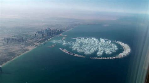 sinking islands in the world palm jumeirah sinking