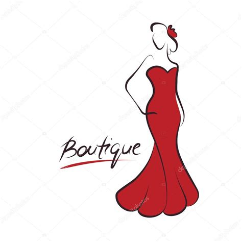 mulher moda logotipo vetor vetor de stock 169 greenvalley 30025791