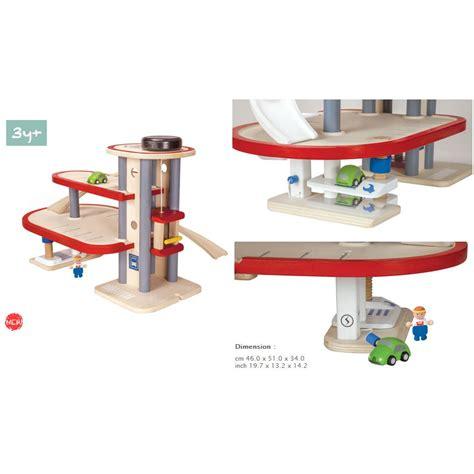 plan toys parking garage   model