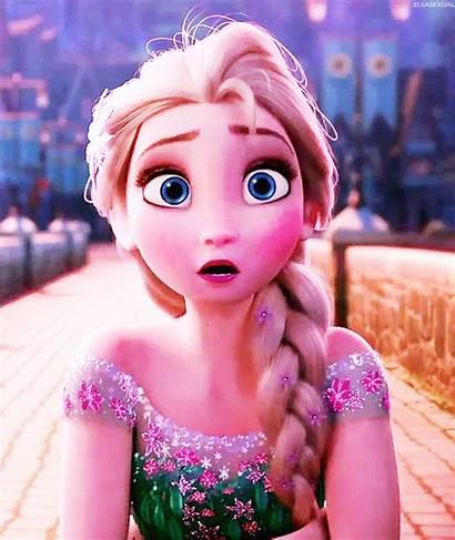 Frozen Fever Elsa Queen Snow Gifs Fanpop