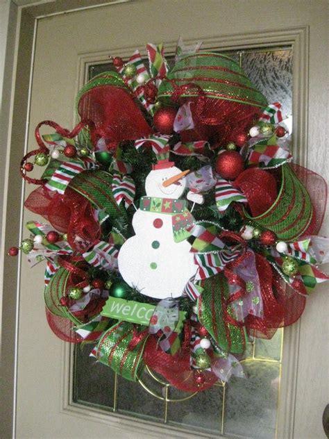 kristens creations christmas mesh wreath tutorial