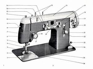 Pfaff 139 Treadle Or Electric Sewing Machine Instruction