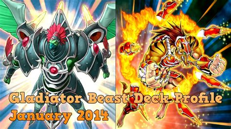 yugioh beast deck 2014 yugioh gladiator beast deck january 2014