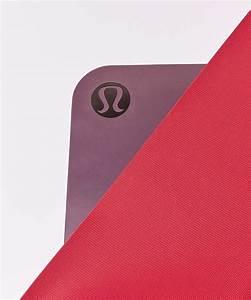 Lululemon The Reversible Mat 3mm - Dark Adobe / Ruby Red