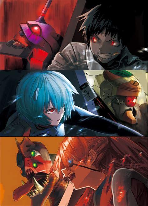 Neon Genesis Evangelion Anime Wikipedia 80 Ilustraciones De Neon Genesis Evangelion 191 El Mejor