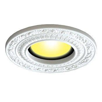 kitchens with recessed lighting spot light trim white urethane recess 6 quot id x 10 quot od 6643