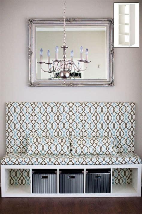 mueble de ikea tuneado decoracion bancos de cocina