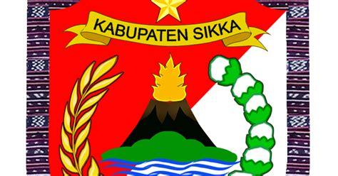 arti logo kabupaten sikka kepulauan ntt