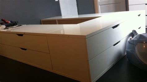 meuble haut cuisine laqué un lit avec des rangements stolmen bidouilles ikea