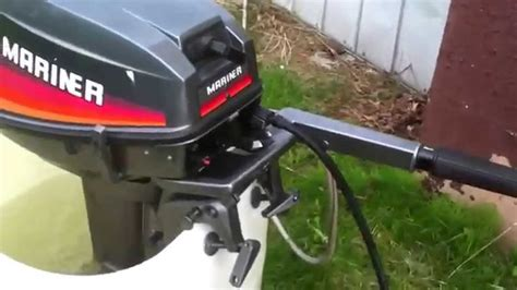 Mercury Outboard Motor Tune Up by Mariner 8hp Carb Tune Up