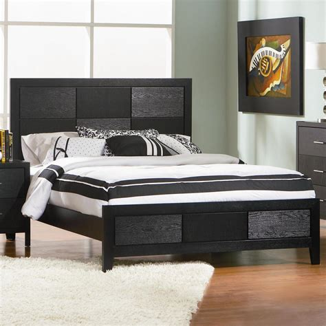 black wood queen size bed steal  sofa furniture outlet