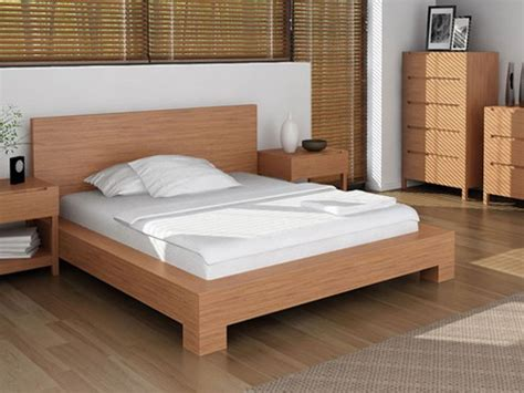 Canvas Of Simple Wood Bed Frame Ideas