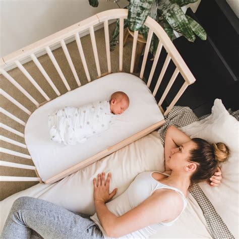 The Sleepers by Babybay 174 Is A Bedside Baby Crib That Helps Parents