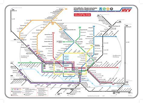 news tourism world hamburg undeground  bahn map pictures