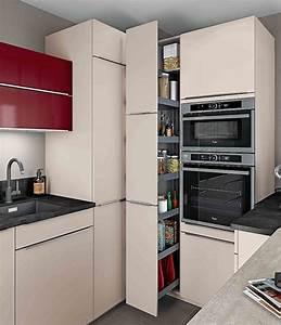 Amenagement Placard Cuisine Coulissant : rangements petite cuisine nos astuces pour optimiser l ~ Melissatoandfro.com Idées de Décoration