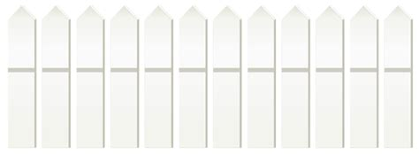 Transparent White Fence Png Clipart