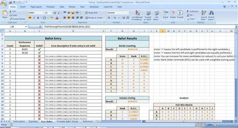 Tally Sheets Election Tally Sheet Template 2 Table Tally Ip Address Spreadsheet Template Ip Address Spreadsheet