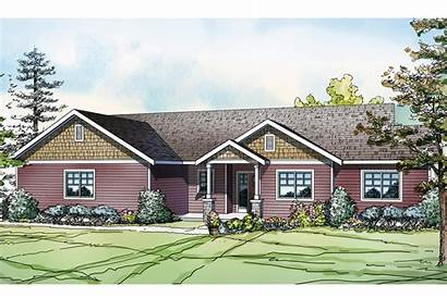 Plan Country Plans Kensington 1753 Theplancollection Elevation