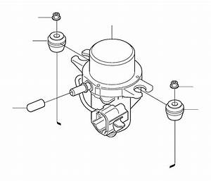 2001 Volvo S80 Vacuum Pump  Components  Kits  Mounting