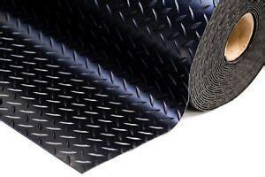 mm thick heavy duty checker plate rubber garage