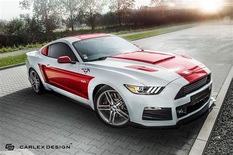 mustang modified carlex design teases new custom built interior for 2017