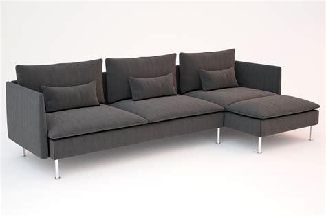 Ikea Soderhamn Sofas 3d Models Cgtradercom