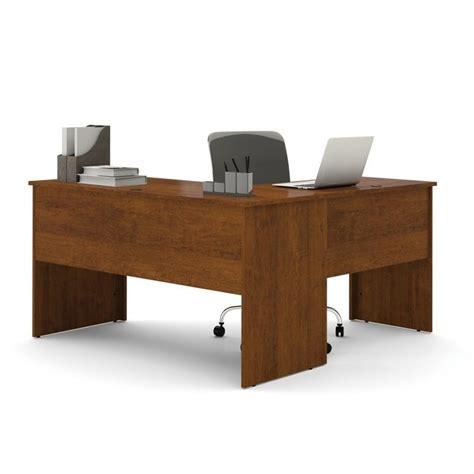 bestar somerville l shaped desk bestar somerville l shaped desk in tuscany brown 45420 63