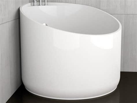Vasche Da Bagno Mini by Vasca Da Bagno Angolare Rotonda Mini White By Glass Design