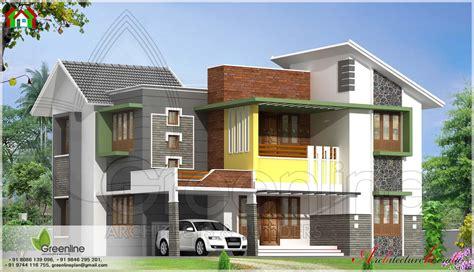 modern style house elevation architecture kerala home plans blueprints 42812