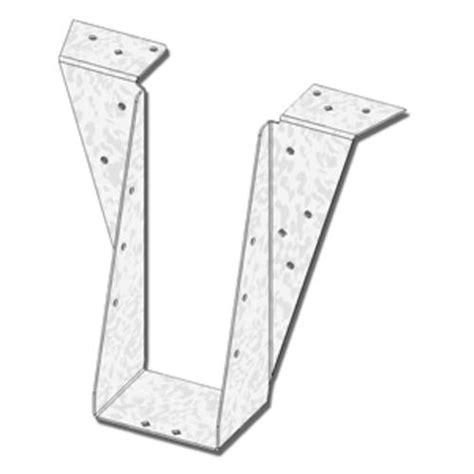 floor joist hangers menards usp structural connectors 5 quot x 11 1 4 quot top mount i joist