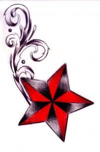 Nautical Star Drawings Tattoos