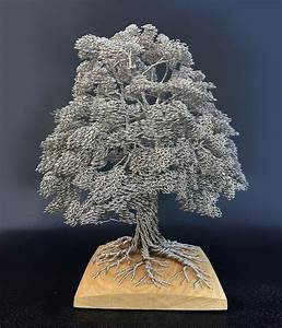 Artist Makes Intricate Tree Sculptures By Twisting Single