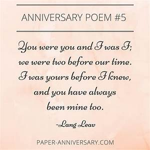 10 EPIC Anniversary Poems for Him | Anniversary Quotes ...