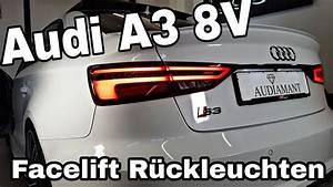 Audi A3 8v Facelift R U00fcckleuchten Dynamischer Blinker