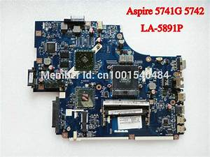 For Acer Aspire 5741g 5742g Laptop Motherboard New70 La 5891p Mbpsz02001 Hm55 With Ati Graphics