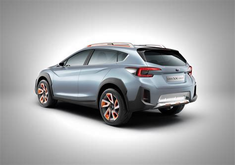 subaru xv crosstrek teased confirmed  debut