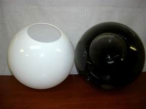 12 quot white smoke globe replacement outdoor indoor lighting