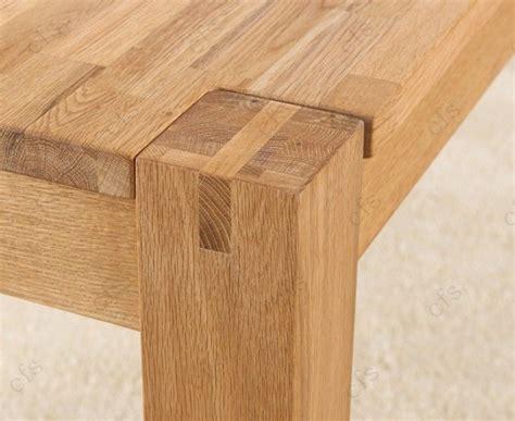 rectangular oak dining table verona chunky contemporary light oak rectangular dining