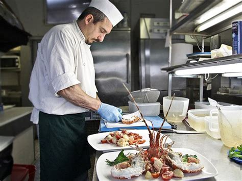 chefs cuisine seafood feast in the outskirts of venice wall