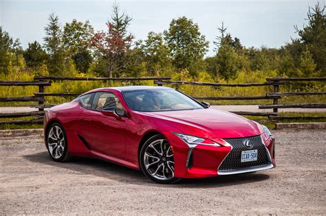 Lexus Lc Image by Review 2018 Lexus Lc 500 Canadian Auto Review