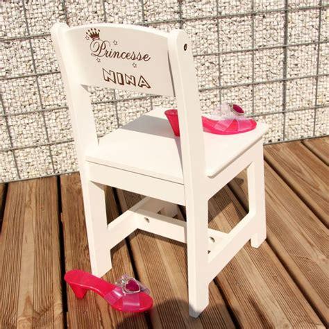 chaise personnalisée chaise d 39 enfant à personnalisée la princesse