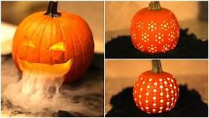 DIY Pumpkin Carvings | Cute Halloween Ideas 🎃 - YouTube