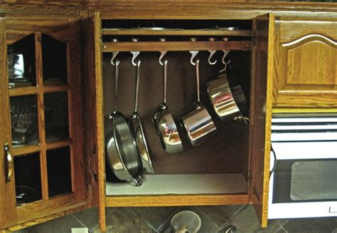 ideas   organizing  pots  pans