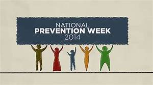 May 19-25 is National Prevention Week