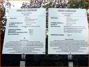 Panneau De Permis De Construire : panneau permis de construire personnalis 123panneaux ~ Dailycaller-alerts.com Idées de Décoration