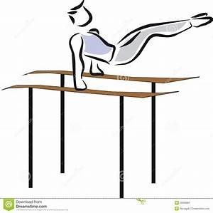 Gymnastics Bars Clipart - Clipart Suggest