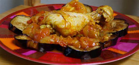 cuisine poulet tajine de poulet et aubergines à l 39 algérienne cuisine du