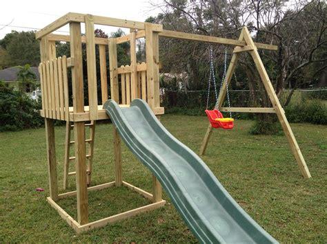 swingset  kids swing set plans kids swing backyard play