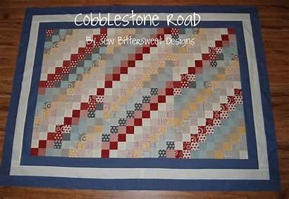 Cobblestone Quilt Pattern Roads Road Tutorial Melissa